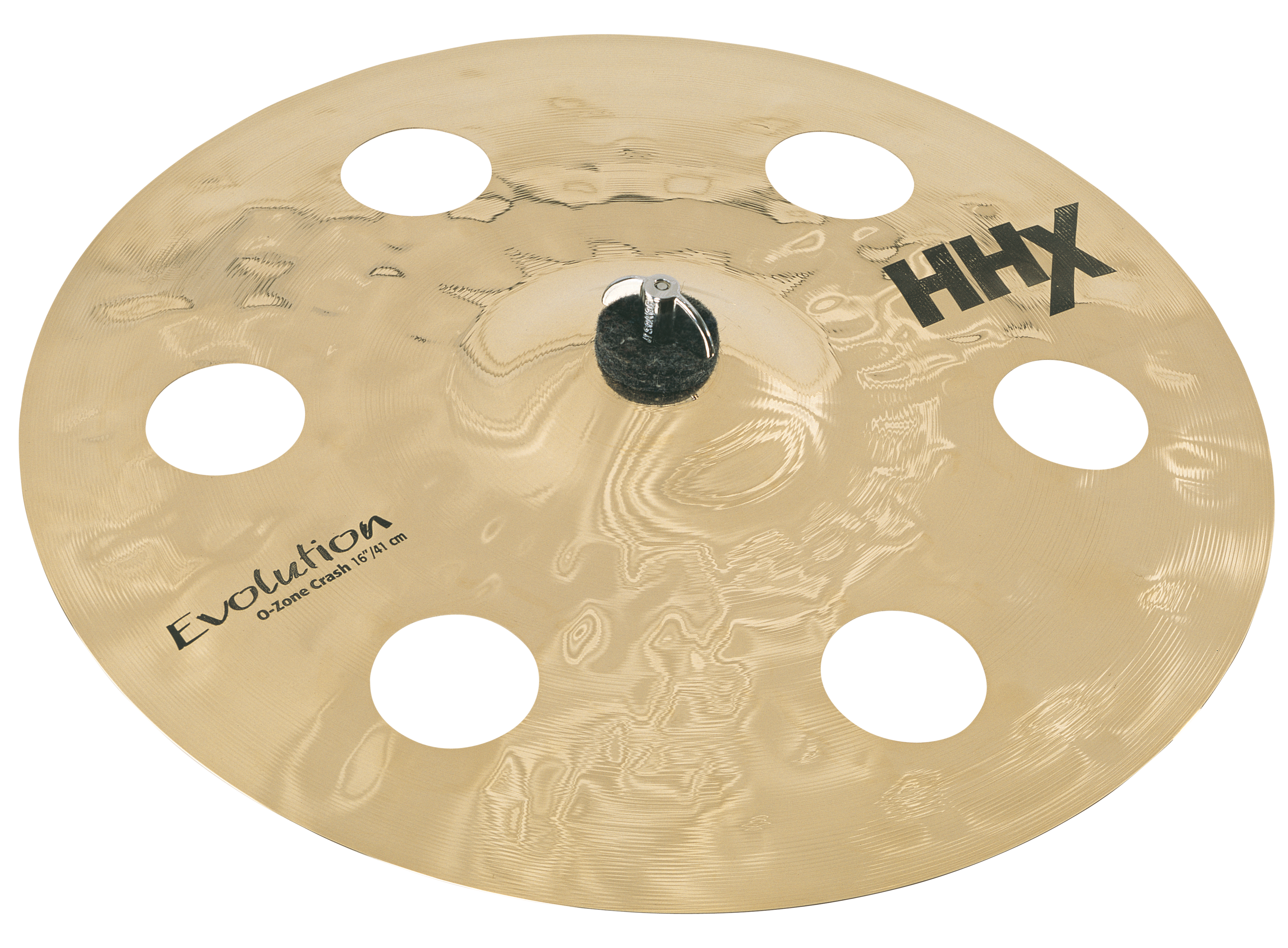 "SABIAN 16"" HHX Evolution O-Zone Crash Brilliant Finish Cymbal 11600XEB"